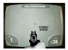 Najlepšie hry pre grafikov II. – Kill Comic Sans - http://detepe.sk/najlepsie-hry-pre-grafikov-ii-kill-comic-sans/