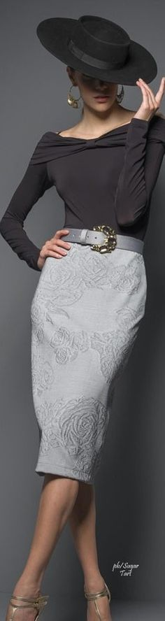 Victor Dzenk 2015-16 women fashion outfit clothing style apparel @roressclothes closet ideas