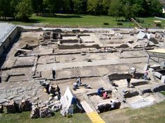 Carnuntum was a Roman army camp, first mentioned 6 AD, whos ruins are located in Lower Austria Open-air museum. This is a short side trip from the Danube Bike Route. Ancient Aliens, Ancient Rome, Ancient History, Heart Of Europe, Austria Travel, Central Europe, Bike Trails, Ancient Artifacts, Forts