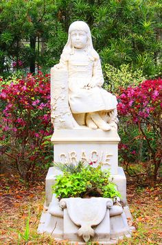 Little Gracie Watson. Bonaventure Cemetery. by Jeanie Sorrells Beach IMG_0166 | Flickr - Photo Sharing!