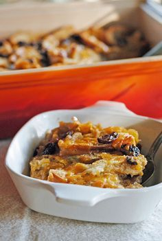 Capirotada (Mexican Bread Pudding) from @JuanitasCocina