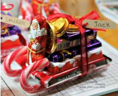 Christmas Candy Sleigh Gift Idea