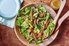Recipe: Honey Mustard Chicken Tender Salad | Kitchn