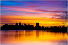 Denver's painted sky    John De Bord Google+