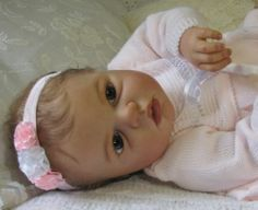 Reborn Prototype Baby Girl Doll Noah Awake Reva Schick | eBay