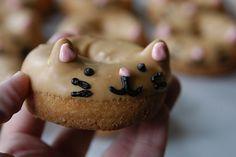 DIY Japanese Cat Donuts copycat  #food