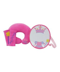 Look what I found on #zulily! Hot Pink Princess Travel Set by Studio BGD #zulilyfinds