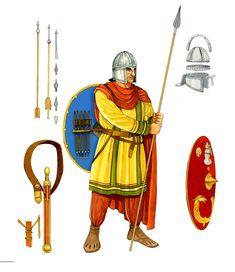 Warrior of the Roman Empire, IV-V cc