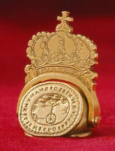 Courtesy of the Royal Armoury // Signet för drottning Ulrika Eleonora d.ä av Sverige (1656-1693), 1680-1693. / Seal of Queen Ulrika Eleonora the Elder of Sweden (1656-1693), 1680-1693.