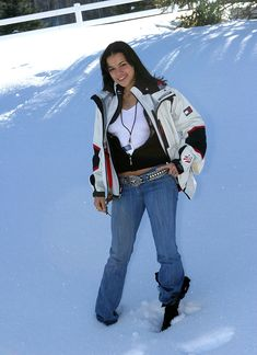 Michelle Rodriguez during 2005 Sundance Film Festival - Michelle Rodriguez Outdoor Portraits at Park City in Park City, Utah, United States. Get premium, high resolution news photos at Getty Images Michelle Rodriguez, Sundance Film Festival, Outdoor Portraits, Park City, Archie, Rihanna, Bomber Jacket, Punk, Utah