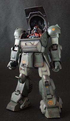 1/20 スコープドッグ - 動くぷらも。 Character Modeling, 3d Modeling, Super Robot, Gundam Model, Photo Reference, War Machine, Illustrations And Posters, Plastic Models, Warhammer 40k