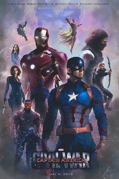 #Avengers #Fan #Art. (Civil-war-poster) By: FmzGFX. (THE * 5 * STÅR * ÅWARD * OF: * AW YEAH, IT'S MAJOR ÅWESOMENESS!!!™)[THANK U 4 PINNING!!!<·><]<©>ÅÅÅ+(OB4E)          https://s-media-cache-ak0.pinimg.com/564x/c8/b0/48/c8b04884b6a335e5c23505e0471c14ad.jpg