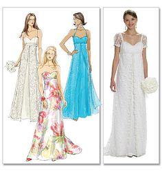 ELEGANT Dress Pattern by McCall's 6030 by TLCsTreasures on Etsy https://www.etsy.com/shop/TLCsTreasures?ref=hdr_shop_menu