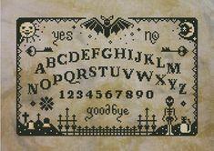 Primitive Ouija Board PDF cross stich pattern by cloudsfactory