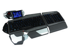 7868d5db978 Mad Catz unveils Strike 7 gaming keyboard with touchscreen and modular  layout