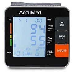 Wrist Blood Pressure Monitor Automatic Systolic Diastolic Hypertension Arrhythmi #WristBloodPressureMonitorAutomatic Blood Pressure, Monitor, Digital, Health, Ebay, Health Care, Salud