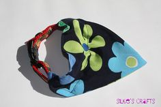 Flower Dog Bandana and Dog Collar for Small Dogs $9.50