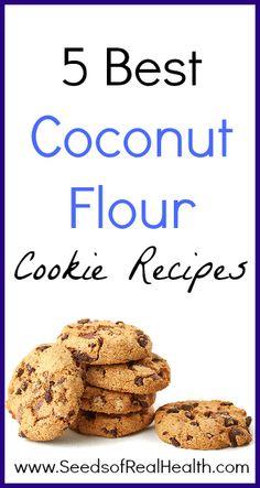 5 Best Coconut Flour Cookie Recipes