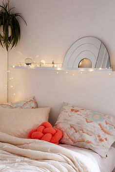 UNDER LOFT: we can string these lights around the bed frame in the loft area.