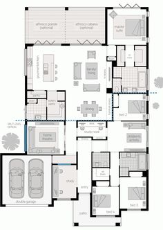 Things To Keep In Mind Before Considering Home Renovation Contract – Home Dcorz 4 Bedroom House Plans, Best House Plans, Dream House Plans, House Floor Plans, My Dream Home, Building Design, Building A House, Home Design Floor Plans, Floor Plan Layout