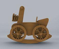 Children's wooden bike on Behance