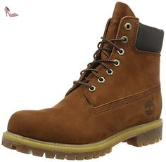 Larchmont CHK, Boots Chukka avec Léger Rembourrage Homme, Marron - Braun (Wheat), 46Timberland
