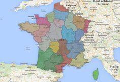 CARTE. Voici à quoi ressemble la France avec 13 régions (avant 22, puis 13)