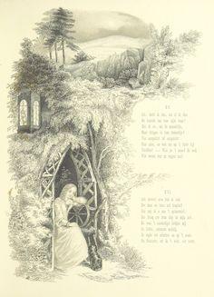 "Image taken from:  Title: ""De Molenaars Dochter. Vrij naar A. Tennyson door A. J. De Bull. Geillustreerd door A. L. Bond"", ""The Miller's Daughter. Dutch"" Author: TENNYSON, Alfred - Baron Tennyson Contributor: BOND, Anne Lydia. Contributor: BULL, Abraham Johannes de. Shelfmark: ""British Library HMNTS 11645.g.6."" Page: 25 Place of Publishing: Utrecht, [1859?] Date of Publishing: 1859 Issuance: monographic Identifier: 003599174  Explore: Find this item in the Br..."