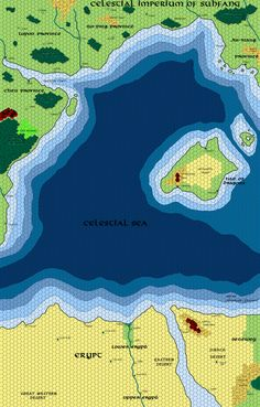 Greyhawk Grognard: Mapping Beyond The Flanaess: Ahmutu0027s Legion And The  Blasted Desert
