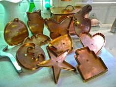 From Captain's Daughter to Army Mom: Martha Stewart by Mail Giant Copper Cookie Cutters
