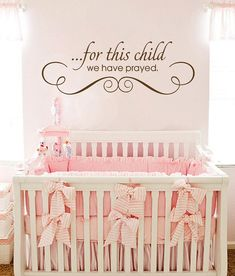 Pretty Nursery Room Baby Paintings Wall Decals Decor