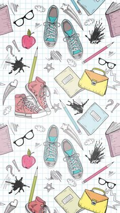 Wallpaper iPhone to school ⚪️ amazing pretty wallpapers Wallpapers Tumblr, Tumblr Wallpaper, Cute Wallpapers, Kawaii Wallpaper, Cool Wallpaper, Pattern Wallpaper, Hipster Wallpaper, Cute Backgrounds, Wallpaper Backgrounds