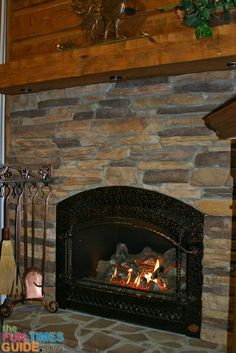 Should You Have a Fireplace in Your Log Cabin?