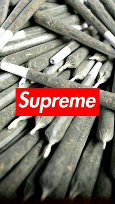 45 Supreme Wallpapers the best for your devices! Cannabis Wallpaper, Weed Wallpaper, Hype Wallpaper, Graffiti Wallpaper, Homescreen Wallpaper, Cool Wallpaper, Wallpaper Backgrounds, Wallpaper Wedding, Wallpaper Ideas