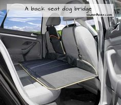 What a great idea for traveling with pets! Also keeps them out of stuff you might have on the floor. I wonder where I can get this - website doesn't say.