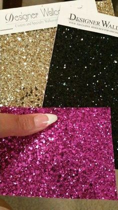 Best This Is What Gold Glitter Wallcovering Would Look Like On 640 x 480