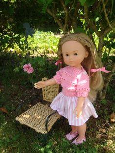 Girls Dresses, Flower Girl Dresses, Amanda, Doll Clothes, Dolls, Knitting, Wedding Dresses, Knits, Blog
