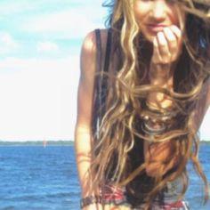 Keep pinning beach hair