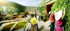 Gallery of SPARK Proposes Vertical Farming Hybrid to House Singapore's Aging…