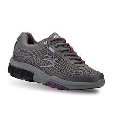 Women's G-Defy FLEXNET ll Shoes from Gravity Defyer. The Flexnet II features the VS2W VersoShock Reverse Trampoline Sole. It absorbs harmful shock so you don't have to. Wear them on your next workout, jogging or playing a quick game of catch up and experience for yourself what a truly great shoe feels like. Women's athletic shoes.
