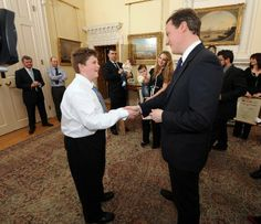 TOM IN TALKS WITH PM OVER KNIFE CRIME AT CHILDRENS CHAMPION 2011