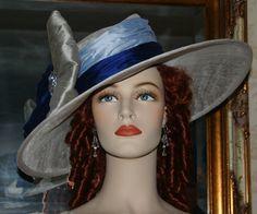 Kentucky Derby Hat Edwardian Hat East Angel by darnasderbyhats, $299.00