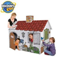 The Discovery Kids Color Me Playhouse