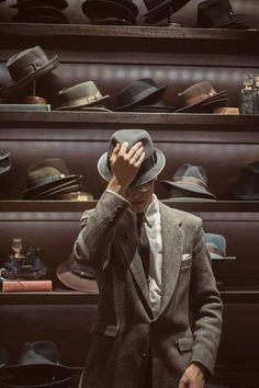 A beautiful moment captured at our Goorin Bros. LINQ Hat Shop in Las Vegas. Photo by Rachel Bellinsky Photography