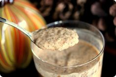 Chia Pumpkin Pudding - Obsessed!