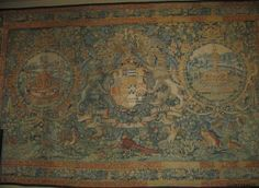Tapestry made c. 1585. Made for the Leicester House in London. Robert Dudley, 1st Earl of Leicester