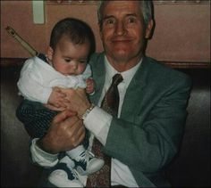 Father in Law and Dylan as a baby