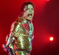 Golden Boy    While touring the world with his HIStory tour, the icon wows the audience with his smooth moves, and his stage theatrics on Nov. 10, 1996.