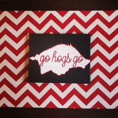 Razorback canvas!