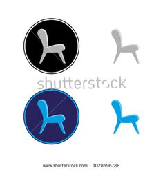 A set of furniture icons